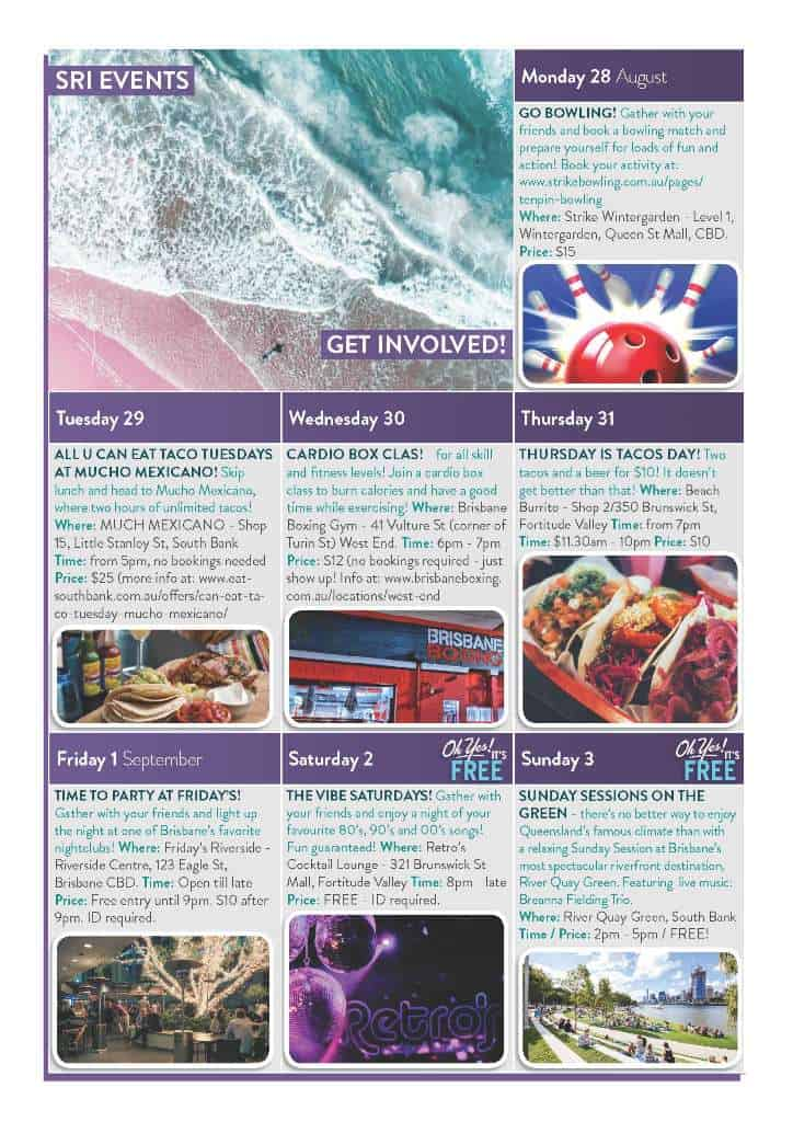 28082017 SRI Weekly Calendar